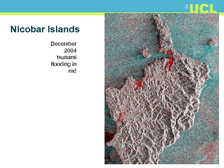 Nicobar Islands December 2004 tsunami flooding in red 8