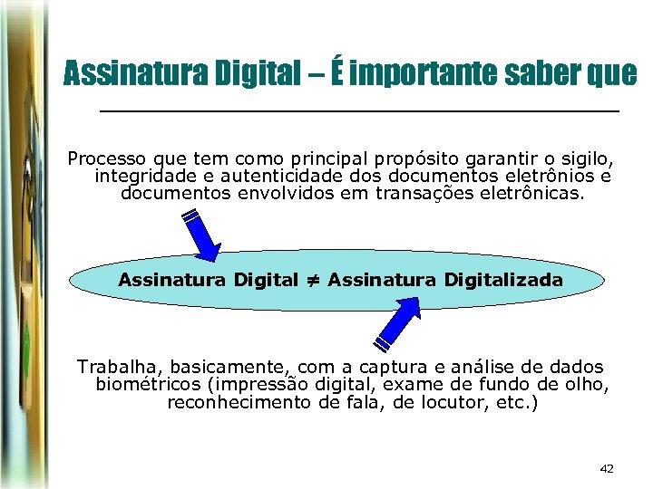 Assinatura Digital – É importante saber que Processo que tem como principal propósito garantir