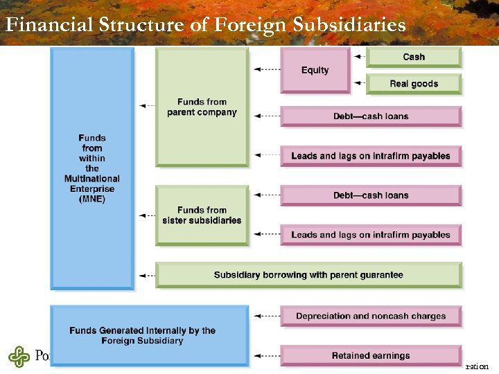 Financial Structure of Foreign Subsidiaries Michael Dimond School of Business Administration