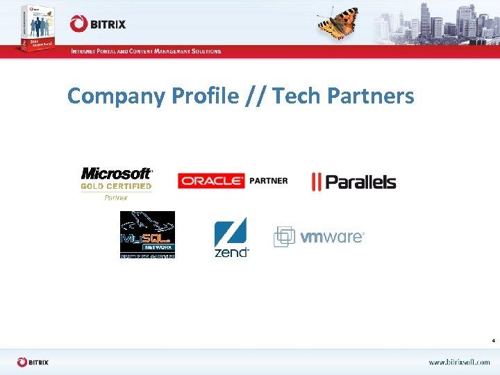 Company Profile // Tech Partners 4