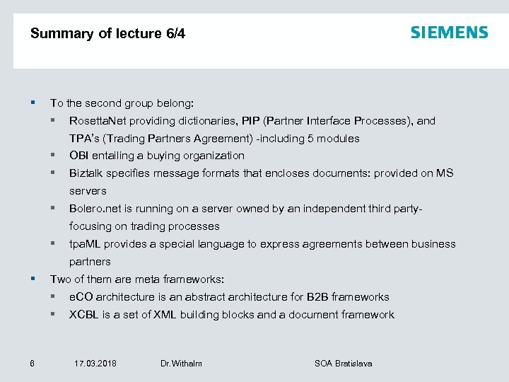Summary of lecture 6/4 § To the second group belong: § Rosetta. Net providing