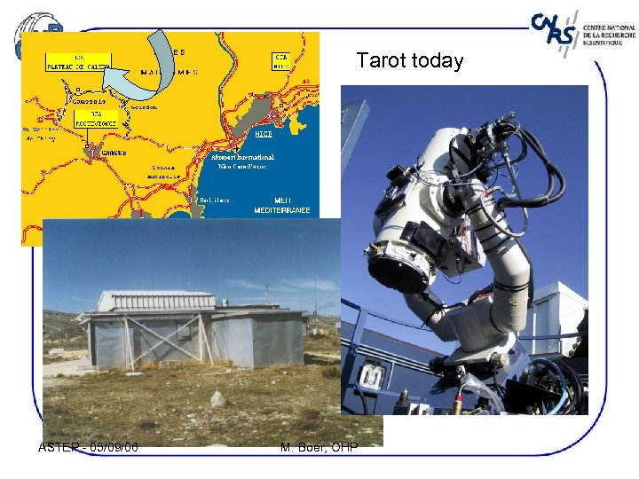 Tarot today ASTEP - 05/09/06 M. Boer, OHP