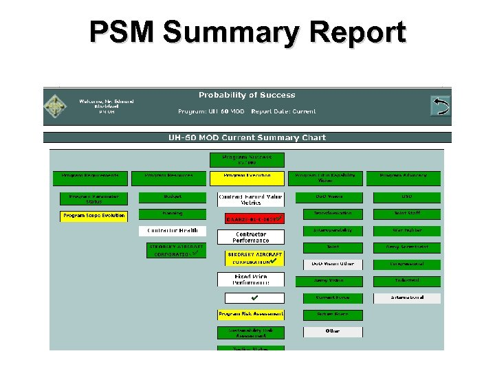 PSM Summary Report