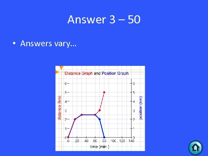 Answer 3 – 50 • Answers vary…