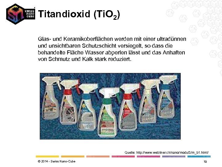 Titandioxid (Ti. O 2) Glas- und Keramikoberflächen werden mit einer ultradünnen und unsichtbaren Schutzschicht