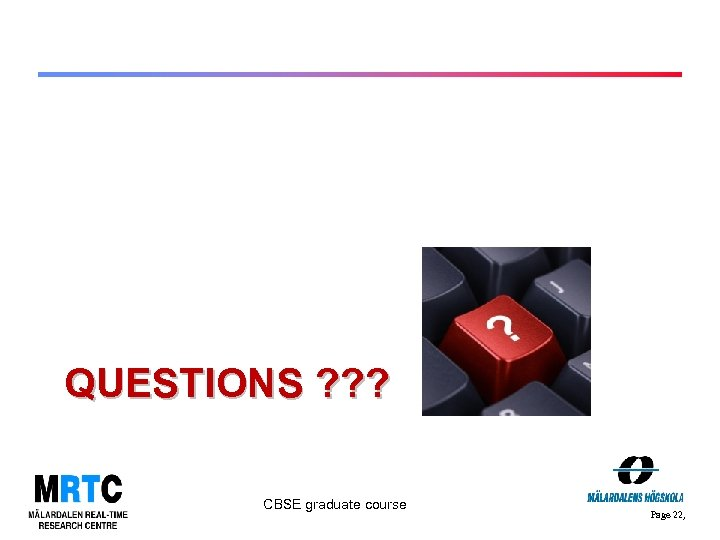 QUESTIONS ? ? ? CBSE graduate course Page 22,