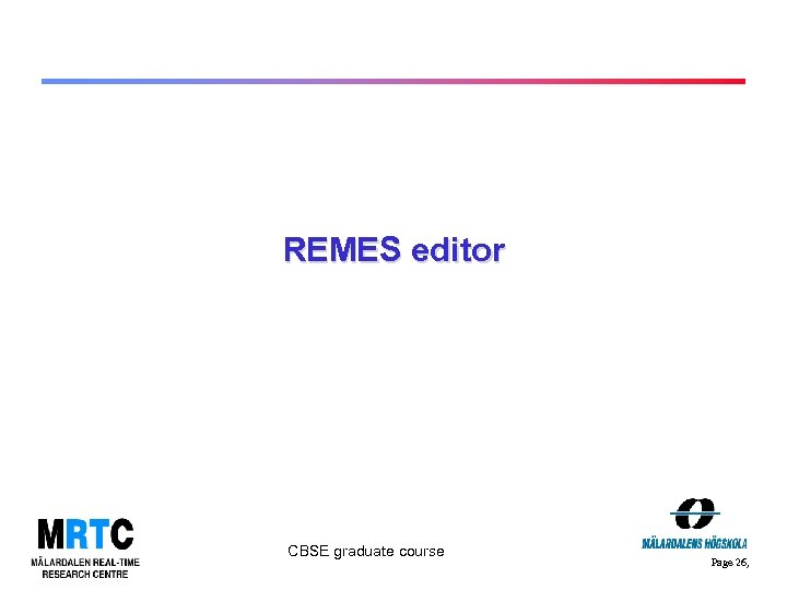 REMES editor CBSE graduate course Page 26,