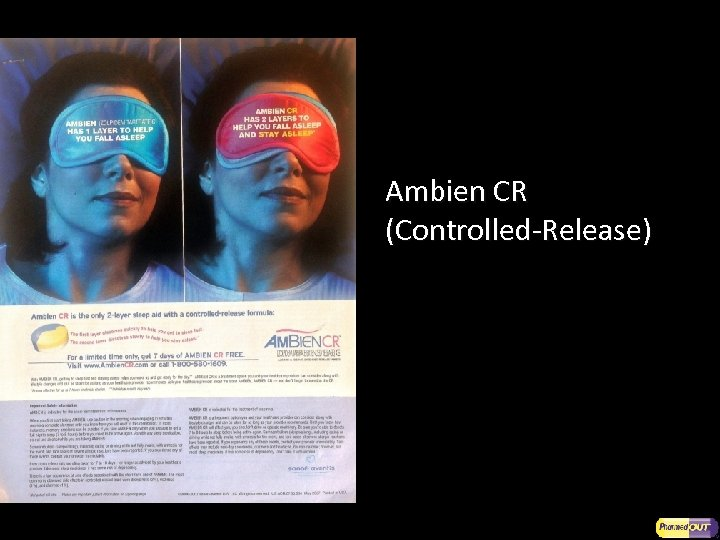 Ambien CR (Controlled-Release)