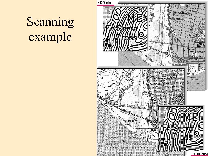 Scanning example