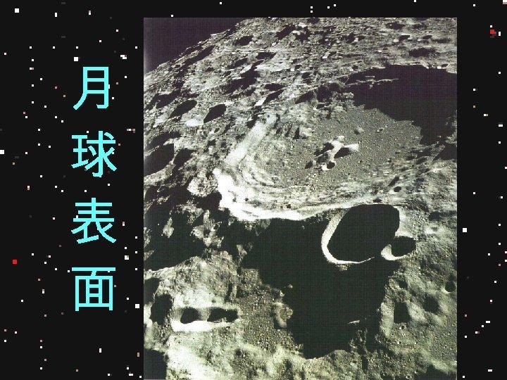 月 球 表 面