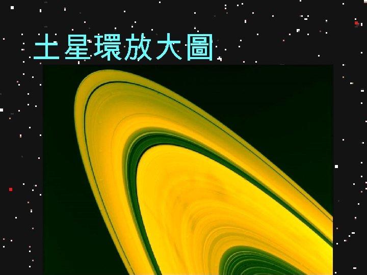 土星環放大圖