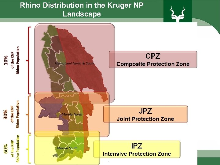 Rhino Distribution in the Kruger NP Landscape