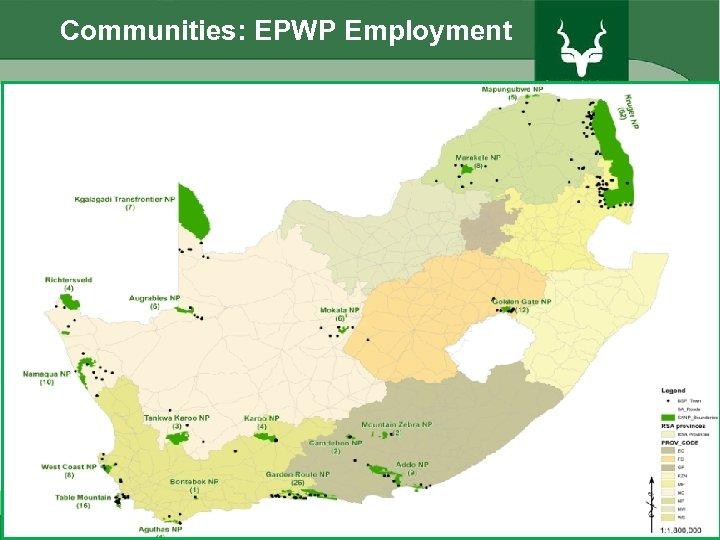Communities: EPWP Employment 45