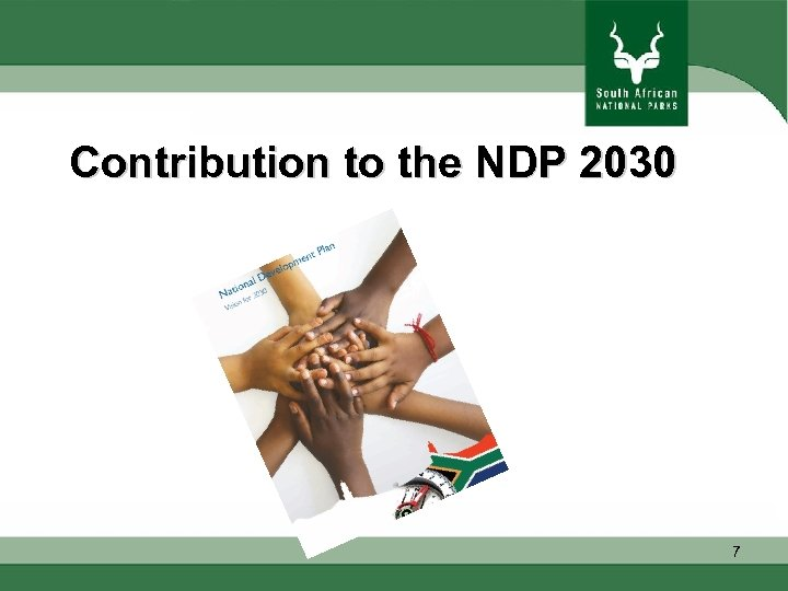 Contribution to the NDP 2030 7