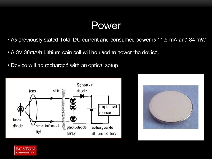 Power • As previously stated Total DC current and consumed power is 11. 5