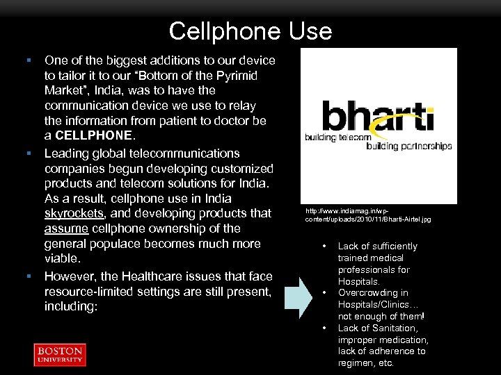 Cellphone Use § § § One of the biggest additions to our device to