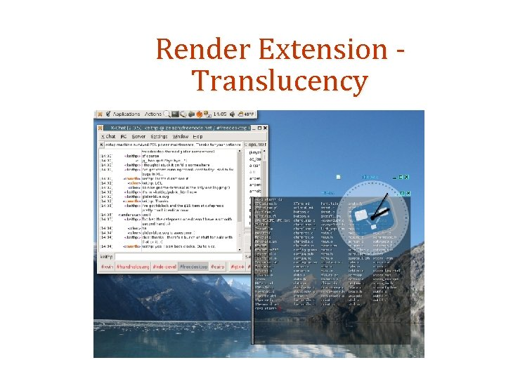 Render Extension Translucency