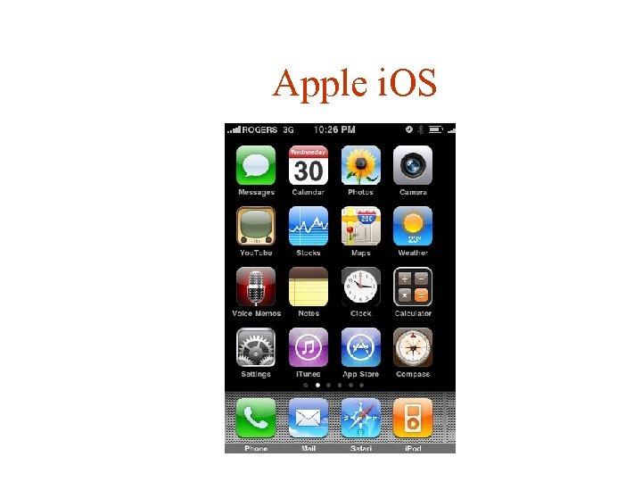 Apple i. OS
