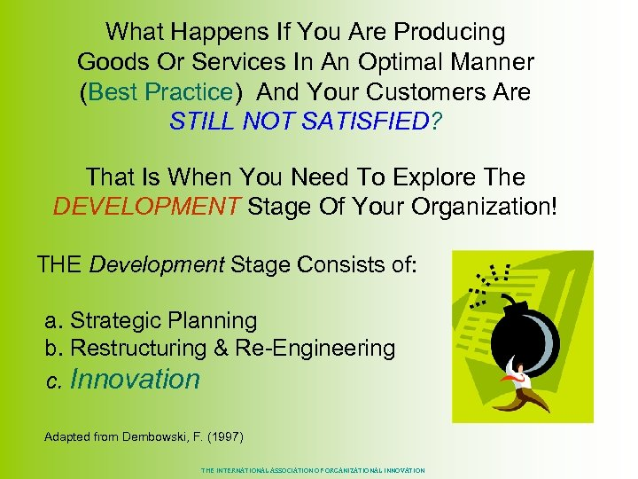 What Happens If You Are Producing Goods Or Services In An Optimal Manner (Best