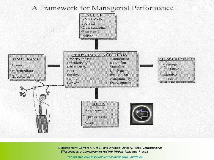 (Adapted from: Cameron, Kim S. , and Whetton, David A. (1983) Organizational Effectiveness: