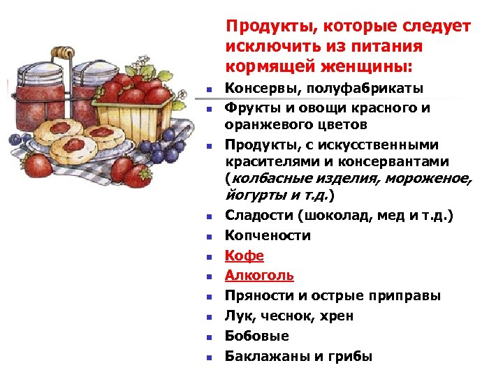 Какие 4 продукта нужно исключить чтобы похудеть