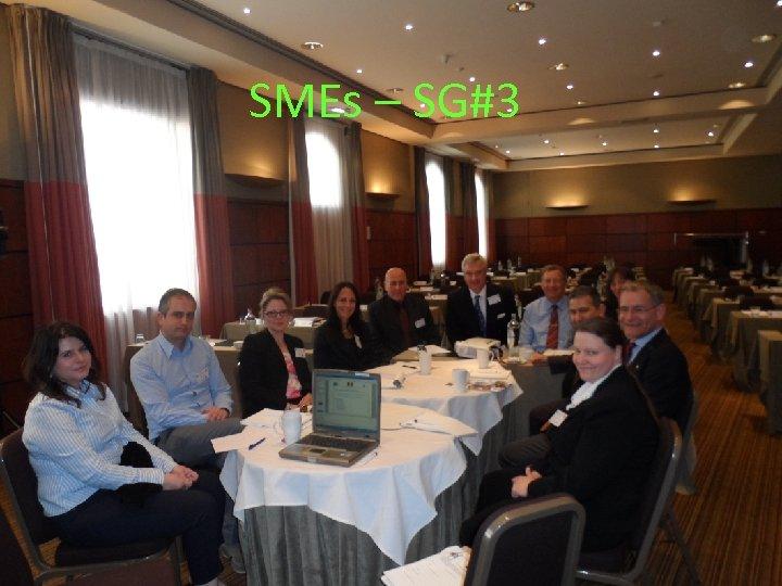 SMEs – SG#3