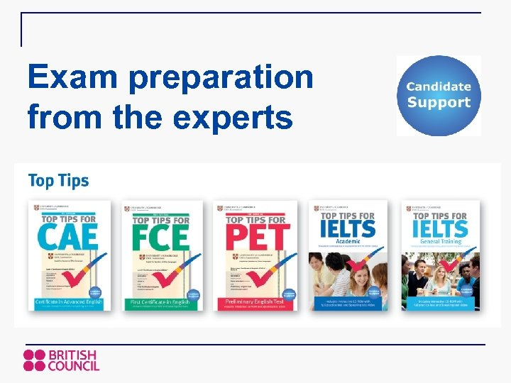 Exam preparation from the experts