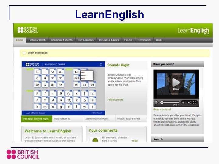 Learn. English