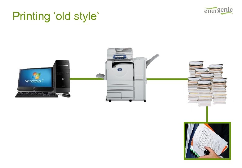 Printing 'old style'