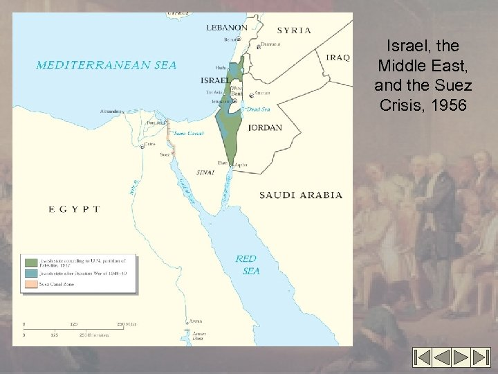 Israel, the Middle East, and the Suez Crisis, 1956