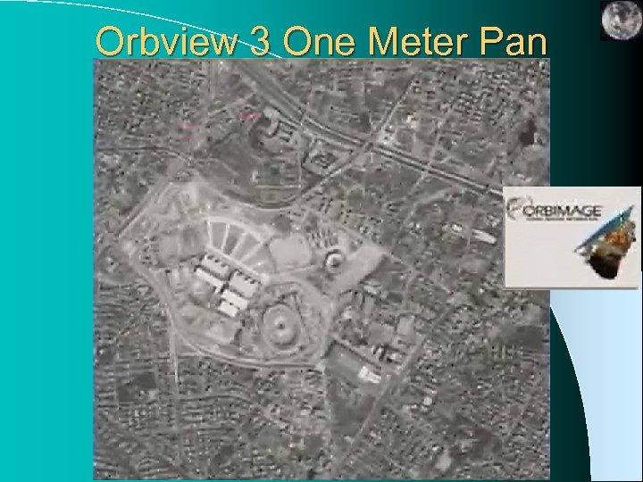 Orbview 3 One Meter Pan