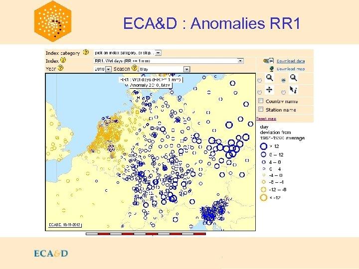 2009 ECA&D : Anomalies RR 1
