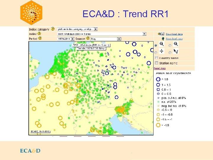 2009 ECA&D : Trend RR 1