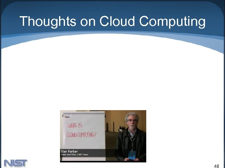 Thoughts on Cloud Computing 48
