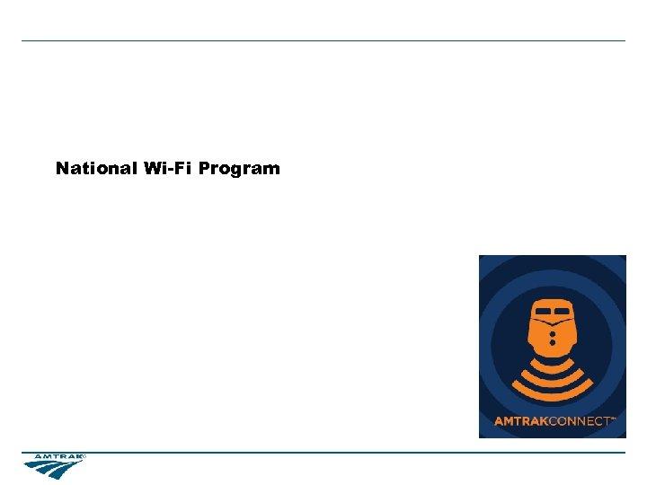 National Wi-Fi Program
