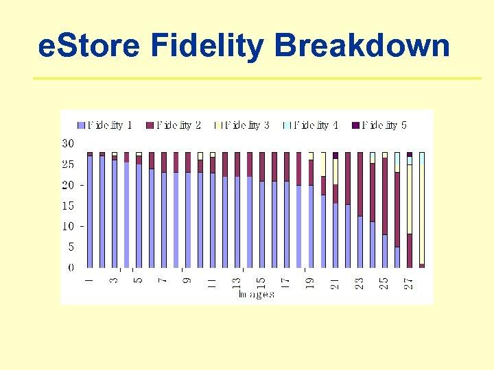 e. Store Fidelity Breakdown