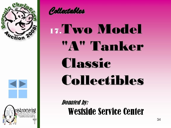 Collectables 17. Two Model