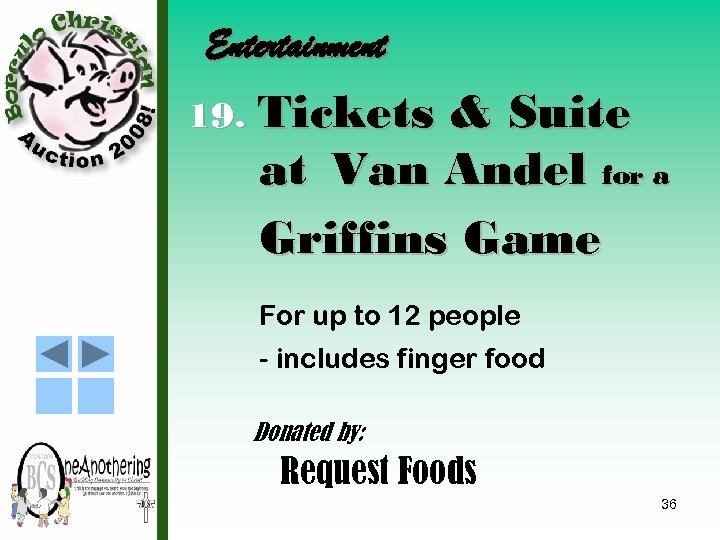 Entertainment 19. Tickets & Suite at Van Andel for a Griffins Game For up