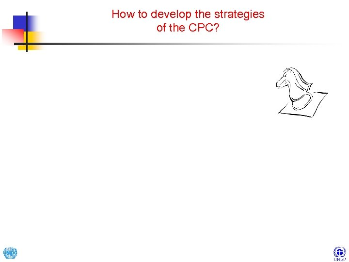 How to develop the strategies of the CPC?