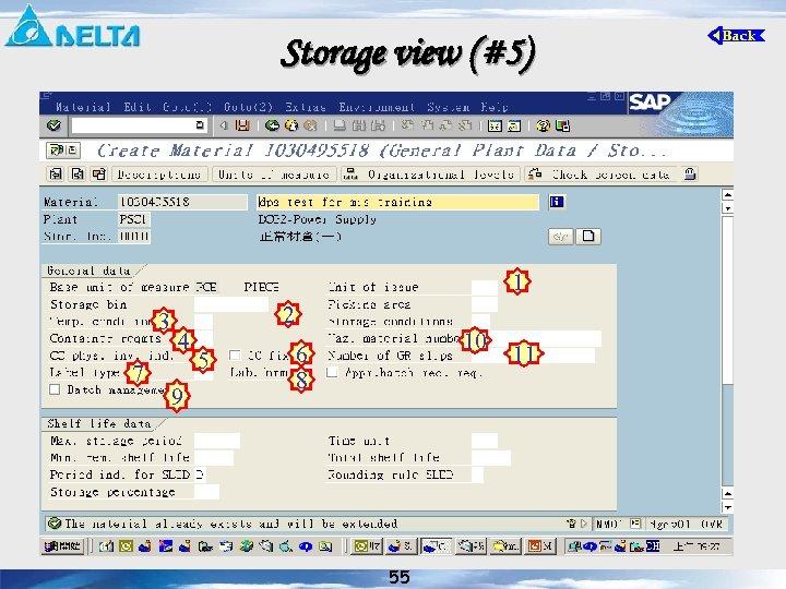 Storage view (#5) 1 3 7 4 9 2 5 10 6 8 55