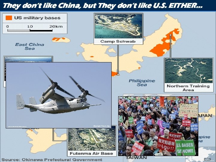They don't like China, but They don't like U. S. EITHER… http: //www. military-today.