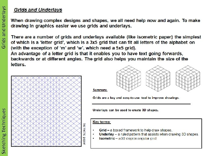 Sketching Techniques Grids and Underlays