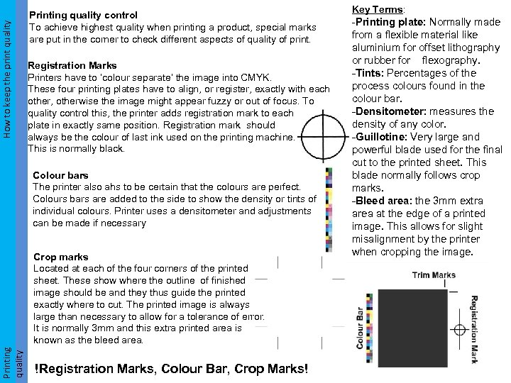 How to keep the print quality How to keep the print Printing quality control