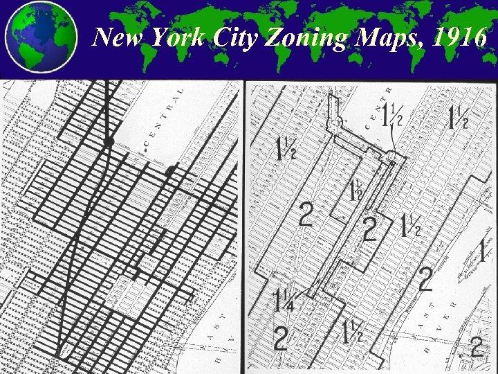 New York City Zoning Maps, 1916 City and Regional Planning Program, Georgia Tech