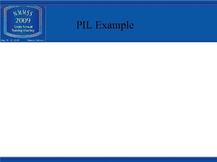 PIL Example