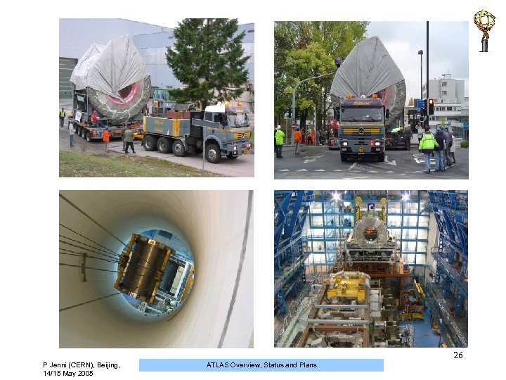 26 P Jenni (CERN), Beijing, 14/15 May 2005 ATLAS Overview, Status and Plans