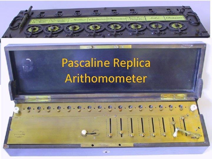 Pascaline Replica Arithomometer