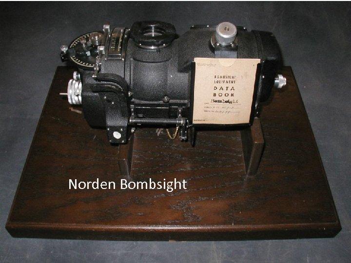 Norden Bombsight