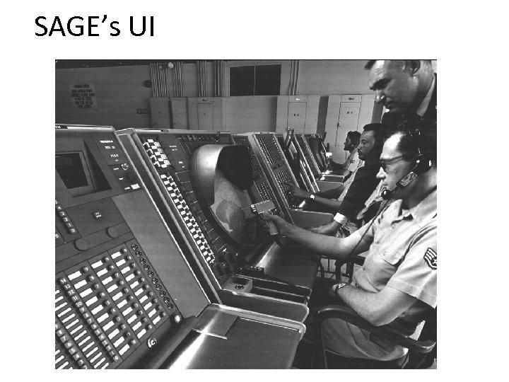 SAGE's UI