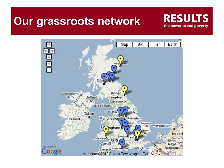 Our grassroots network